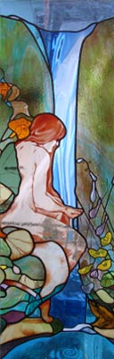 fusing, stained glass, stained glass, fused glass, glass, bending glass, lamps, screens, glass art, architectural glass, curved glass